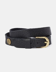 Icon Brand Bracelet In Leather