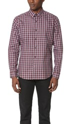 Theory Sylvain Thebes Shirt Red