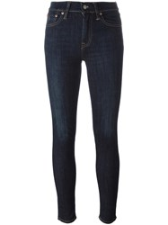 Polo Ralph Lauren Ankle Length Skinny Jeans Blue