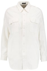 R 13 R13 Cotton Shirt Off White