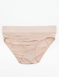Base Range Elastic Bell Pants In Nude