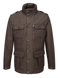 Tog 24 Monza Milatex Hooded Jacket Coffee
