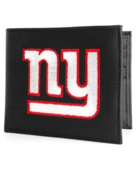 Rico Industries New York Giants Bifold Wallet Black