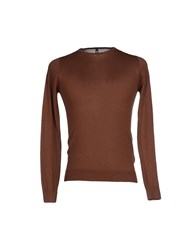Dondup Knitwear Jumpers Men Cocoa