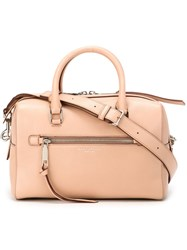 Marc Jacobs 'Recruit' Bauletto Tote Nude And Neutrals