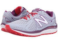 New Balance W720v3 Day Break Imperial Red Women's Running Shoes Gray