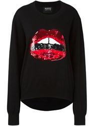 Markus Lupfer Sequin Detail Sweater Black