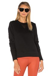 Alo Yoga Downtown Long Sleeve Black