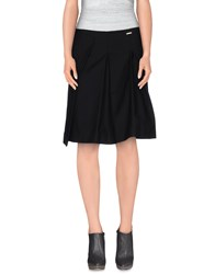 Annarita N. Skirts Knee Length Skirts Women Black