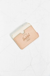 Herschel Supply Co. Charlie Leather Select Card Case Neutral