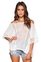 Free People Echo Pullover White