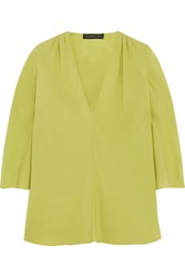 Maria Grachvogel Metropole Silk Crepe Top