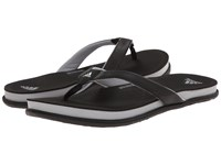 Adidas Supercloud Plus Thong Black Grey Silver Metallic Women's Sandals