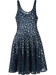 Stine Goya 'Foil' Dress Blue