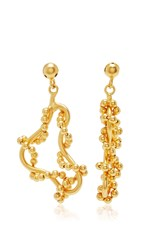 Paula Mendoza Tangled Tree Earrings Gold