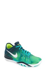 Nike Women's 'Free Tr Fit 6' Training Shoe Clear Jade White Volt