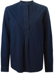 Sofie D'hoore Button Down Collar Shirt Blue