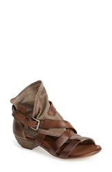 Women's Miz Mooz 'Cassidy' Leather Sandal Stone