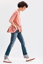 Anthropologie Pilcro Parallel Mid Rise Jeans Grant