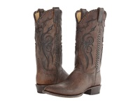 Stetson Whipstitched Round Toe Boot Brown Cowboy Boots