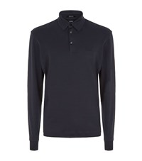 Boss Phillian Polo Shirt Male Navy