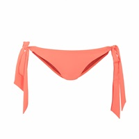 Lilliput And Felix Rosa Ribbon Bikini Briefs In Hot Coral Pink Purple