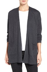 Eileen Fisher Women's Organic Linen And Cotton Open Front Cardigan