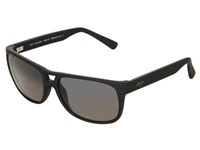 Maui Jim Waterways Matte Black Rubber Neutral Grey Sport Sunglasses