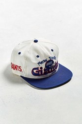 Urban Outfitters Vintage New York Giants Snapback Hat White