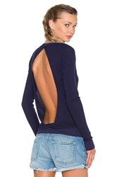 Chaser Cross Over Long Sleeve Thermal Top Navy