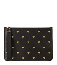 Sophie Hulme Talbot Hearts Pouch Female Black