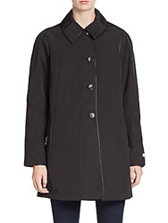 Jane Post Reversible Long Coat Black
