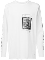 Stampd Raw Hem Longsleeved T Shirt White