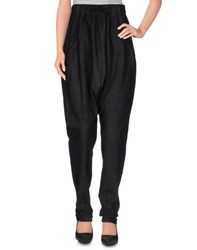 Isabel Benenato Trousers Casual Trousers Women Black