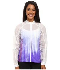 New Balance First Jacket Spectral Print Women's Coat Purple