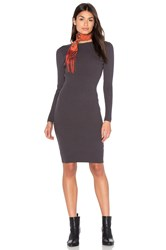 Bishop Young Charcoal Grey Sweater Dress Gray