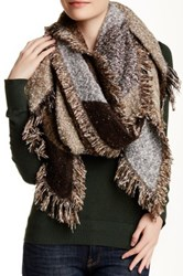Lava Western Scarf Brown