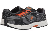 Propet Xv550 Grey Orange Men's Flat Shoes Gray