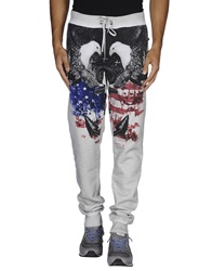 Philipp Plein Homme Casual Pants Light Grey