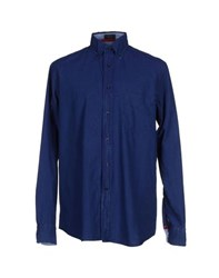 Paul And Shark Denim Denim Shirts Men Blue