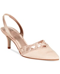 Adrianna Papell Haven Evening Pumps Women's Shoes Sand