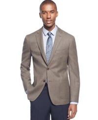 Ryan Seacrest Distinction Herringbone Slim Fit Sport Coat Only At Macy's Light Brow