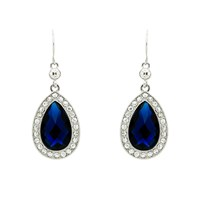 Monet Montana Teardrop Hook Earrings