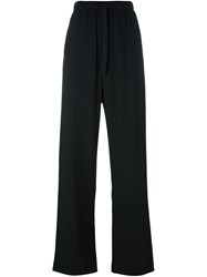 Maison Martin Margiela Mm6 High Waisted Trousers Black