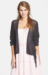 Junior Women's Volcom 'Chatroom' Open Cardigan