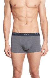 Boss Men's Stripe Stretch Cotton Boxer Briefs
