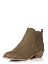 Dorothy Perkins Millie Prarie Boots Green