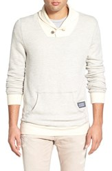 Men's Sol Angeles 'Roma' Textured Shawl Collar Sweatshirt