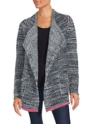 Zadig And Voltaire Daphne Open Front Sweater Grey