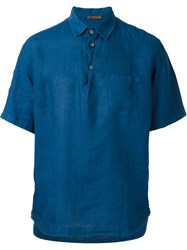 Barena Shortsleeved Shirt Blue